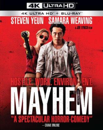 Mayhem (2017) (4K Ultra HD + Blu-ray)