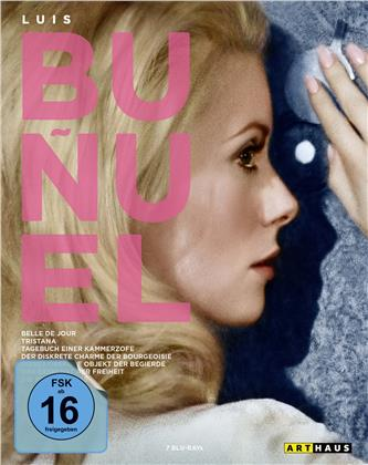 Luis Buñuel Edition (Arthaus, 7 Blu-ray)