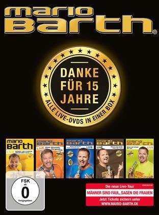 Mario Barth - Mario Barth - Danke für 15 Jahre: Alle Live-DVDs in einer Box! (5 DVDs)