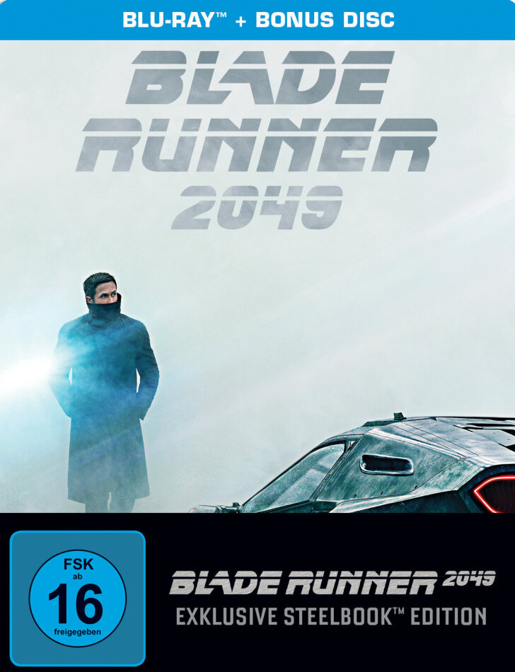 Blade Runner 2049 (2017) (Limited Edition, Steelbook, 2 Blu-rays)