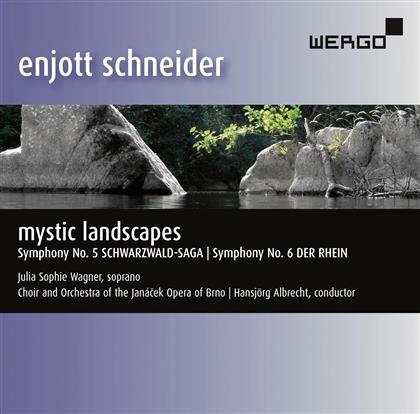 Enjott Schneider, Hansjörg Albrecht, Julia Sophie Wagner & Orchestra Of The Janacek Opera - Schwarzwald-Saga / Der Rhein