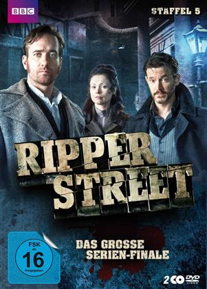 Ripper Street - Staffel 5 - Die finale Staffel (BBC, Uncut, 2 DVDs)