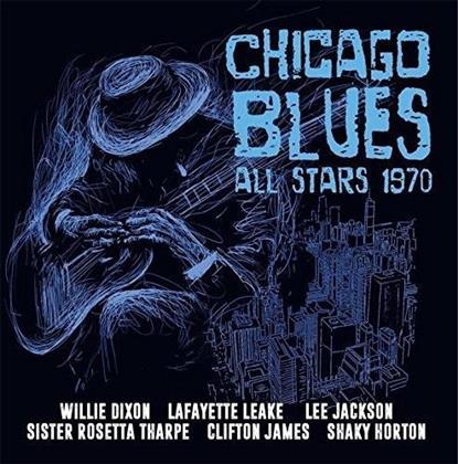 Willie Dixon, Lafayette Leake, Lee Jackson, Sister Tharpe, Clifton James, … - Chicago Blues All Stars 1970 (2 CD)