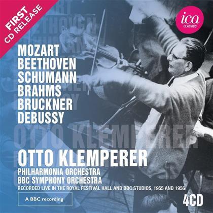 Otto Klemperer, Philharmonia Orchestra & BBC Symphony Orchestra - Symphonien / Symphonies (4 CDs)