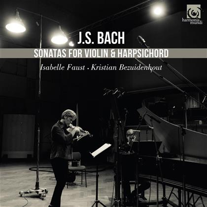 Johann Sebastian Bach (1685-1750), Isabelle Faust & Kristian Bezuidenhout - Complete Sonatas For Violin & Piano (2 CDs)