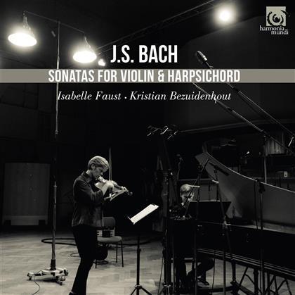 Johann Sebastian Bach (1685-1750), Isabelle Faust & Kristian Bezuidenhout - Complete Sonatas For Violin & Piano (2 CDs)
