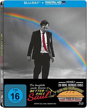 Better Call Saul - Staffel 2 (Limited Edition, Steelbook, 4 Blu-rays)