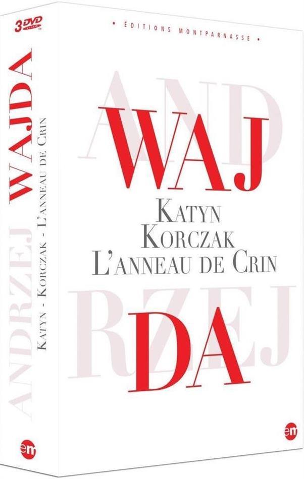Andrzej Wajda - Katyn / L'anneau de crin / Korczac (s/w, 3 DVDs)