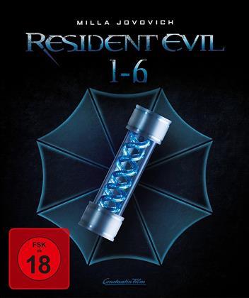 Resident Evil 1-6 (Edizione Limitata, 3 Blu-ray + 3 Blu-ray 3D (+2D))