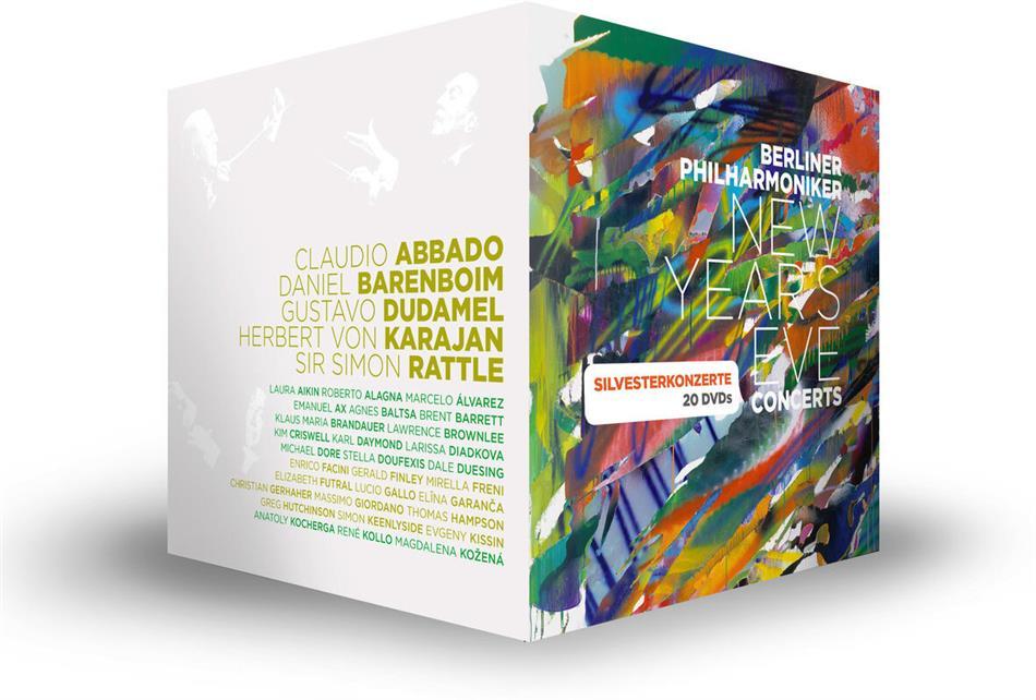 Berliner Philharmoniker - New Year's Eve Concerts - 1977-2015 (20 DVDs)