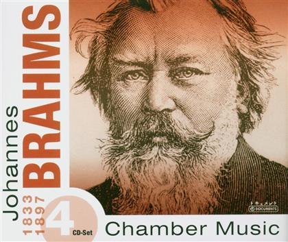 Johannes Brahms (1833-1897) - Kammermusik (4 CDs)