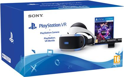Playstation 4 VR Bundle - Headset + Camera + VR Worlds