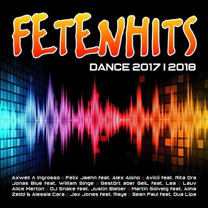 Fetenhits Dance 2017-2018 (2 CDs)