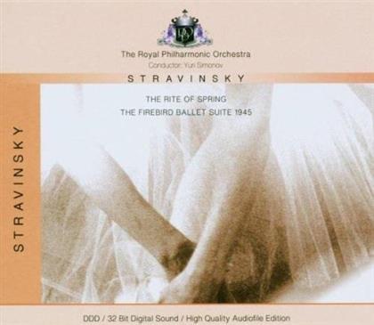 Igor Strawinsky (1882-1971), Yuri Simonov & Royal Philharmonic Orchestra - The Rite Of Spring / Firebird Ballet Suite 1945