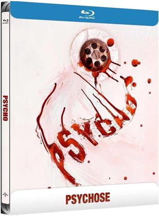 Psycho (1960) (s/w, Limited Edition, Steelbook)