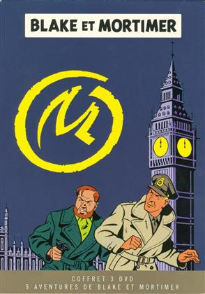 Blake et Mortimer - 9 aventures de Blake et Mortimer (Box, Limited Edition, 3 DVDs)