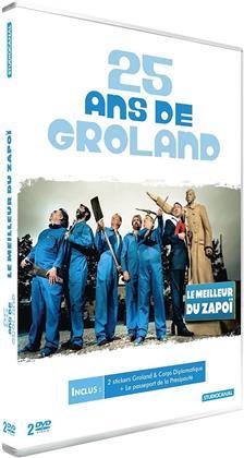 Groland - 25 ans de Groland - Le meilleur du Zapoï (2 DVDs)
