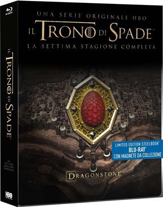 Il Trono di Spade - Stagione 7 (con magnete da collezione, Limited Edition, Steelbook, 4 Blu-rays)