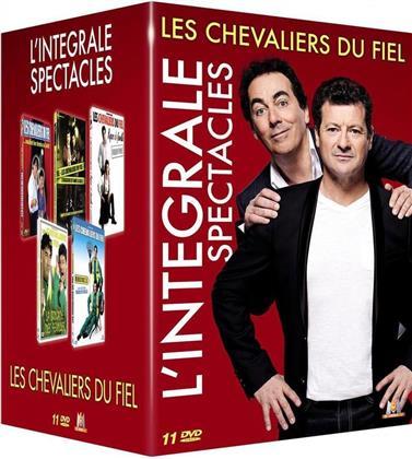 Les Chevaliers du Fiel - L'intégrale spectacles (11 DVDs)