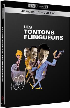 Les Tontons flingueurs (1963) (n/b, Edizione Limitata, Steelbook, 4K Ultra HD + Blu-ray)