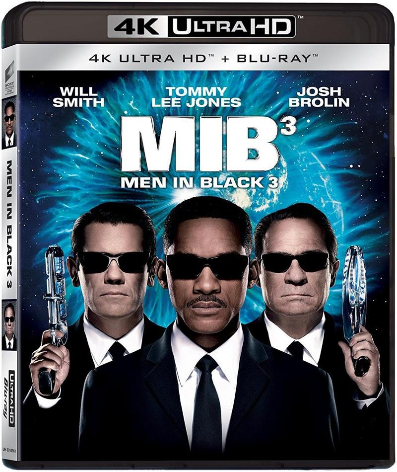 Men in Black 3 (2012) (4K Ultra HD + Blu-ray)