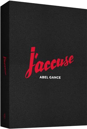 J'accuse (1938) (Coffret Collector , Edition Numérotée, Stummfilm Edition, s/w, 2 Blu-rays + 5 DVDs + Buch)