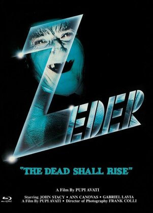 """Zeder - """"The Dead Shall Rise"""" (1983) (Cover C, Eurocult Collection, Limited Edition, Mediabook, Uncut, Blu-ray + DVD)"""