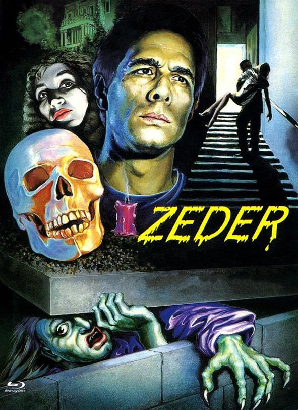 Zeder (1983) (Cover A, Eurocult Collection, Limited Edition, Mediabook, Uncut, Blu-ray + DVD)