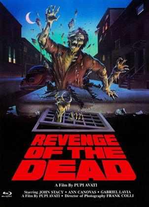 Revenge of the Dead (1983) (Cover B, Eurocult Collection, Limited Edition, Mediabook, Uncut, Blu-ray + DVD)