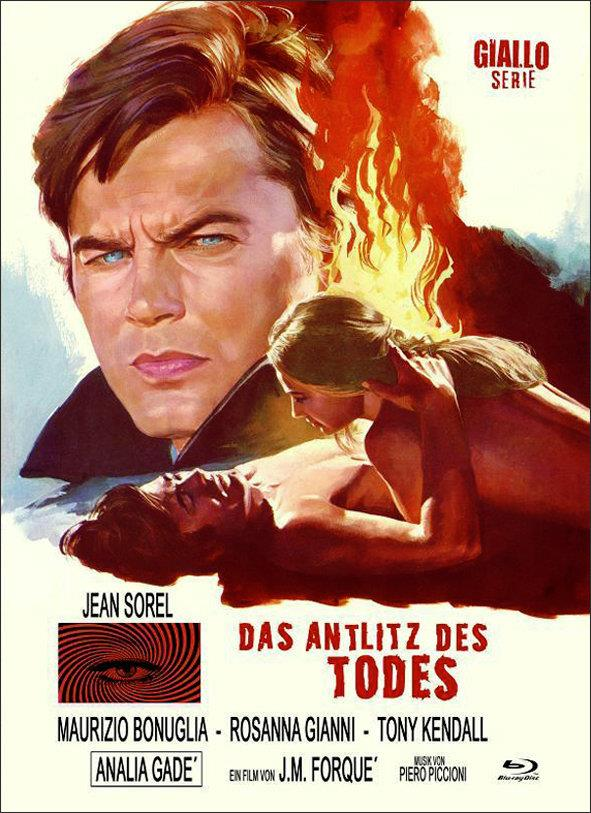 Das Antlitz des Todes (1971) (Cover B, Eurocult Collection, Giallo Serie, Limited Edition, Mediabook, Uncut, Blu-ray + DVD)