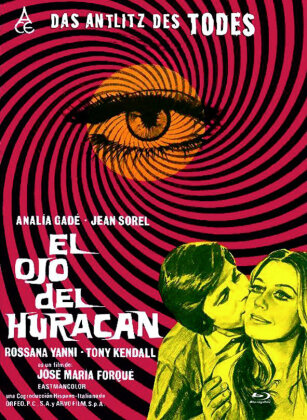 El ojo del huracan - Das Antlitz des Todes (1971) (Cover C, Eurocult Collection, Edizione Limitata, Mediabook, Uncut, Blu-ray + DVD)
