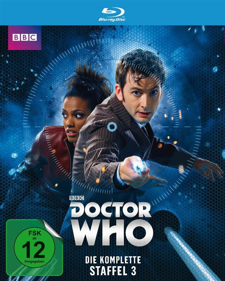 Doctor Who - Staffel 3 (BBC, 3 Blu-rays)