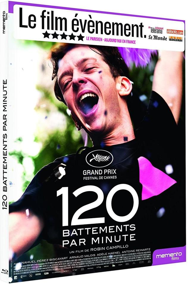 120 battements par minute (2017) (Digipack)