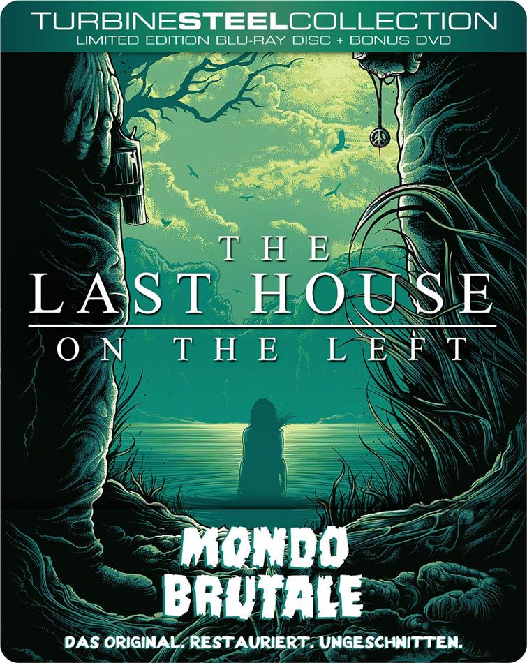 The Last House on the Left - Mondo Brutale (1972) (Turbine Steel Collection, FuturePak, Edizione Limitata, Edizione Restaurata, Uncut, Blu-ray + DVD)