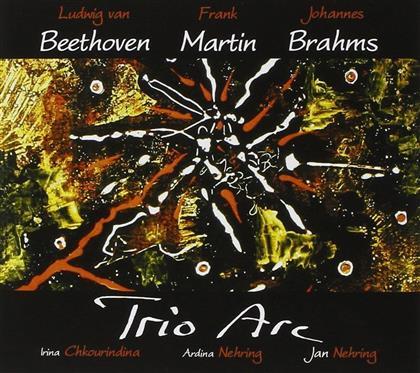 Trio D'arc, Ludwig van Beethoven (1770-1827), Frank Martin (1890-1974) & Johannes Brahms (1833-1897) - Beethoven-martin-brahms