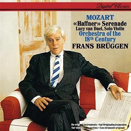 Wolfgang Amadeus Mozart (1756-1791), Frans Brüggen, Lucy van Dael & Orchestra Of The 18th Century - Haffner - Serenade