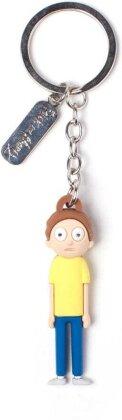 Porte-clef 3D Rubber - Morty - Rick et Morty