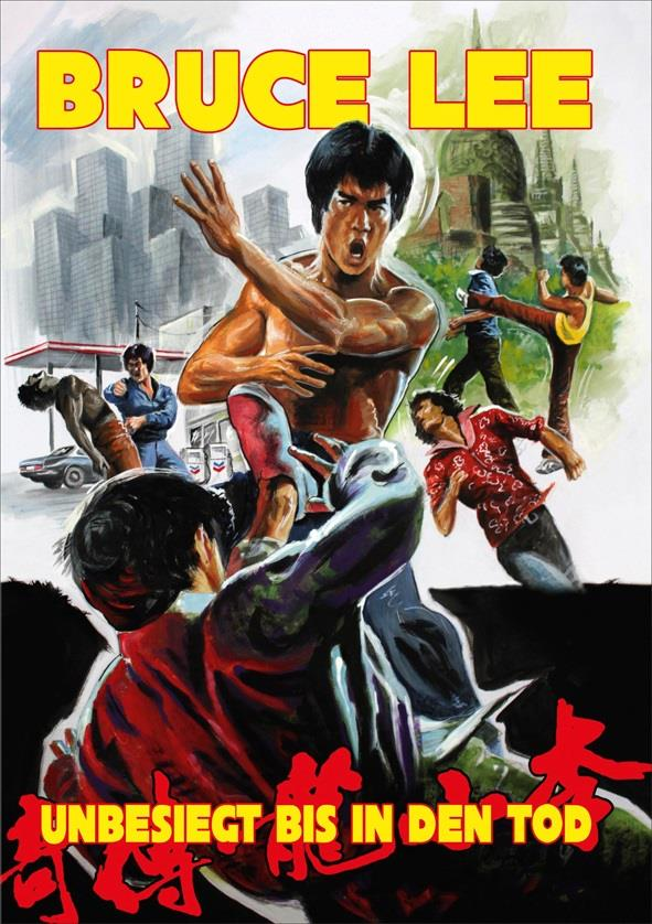 Bruce Lee - Unbesiegt bis in den Tod (1976) (Kleine Hartbox, Cover B, Uncut)