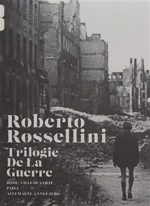 Roberto Rosselini - La trilogie de la guerre (s/w, 3 DVDs)