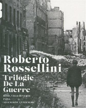Roberto Rosselini - La trilogie de la guerre (s/w, 3 Blu-rays)