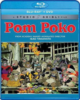 Pom Poko (1994) (Blu-ray + DVD)