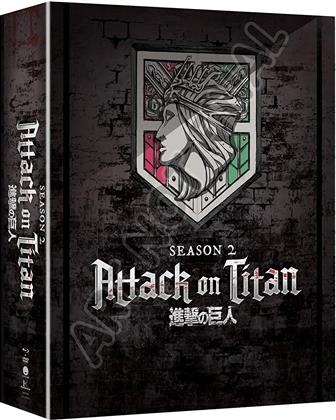 Attack On Titan - Season 2 (Limited Edition, 4 Blu-rays)