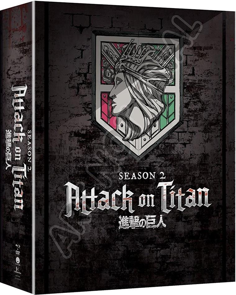 Attack On Titan - Season 2 (Edizione Limitata, 4 Blu-ray)