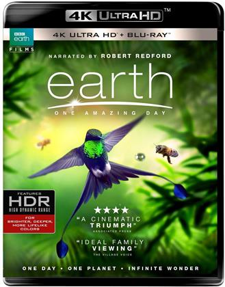 Earth - One Amazing Day (2017) (4K Ultra HD + Blu-ray)