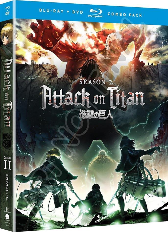 Attack On Titan - Season 2 (4 Blu-ray)
