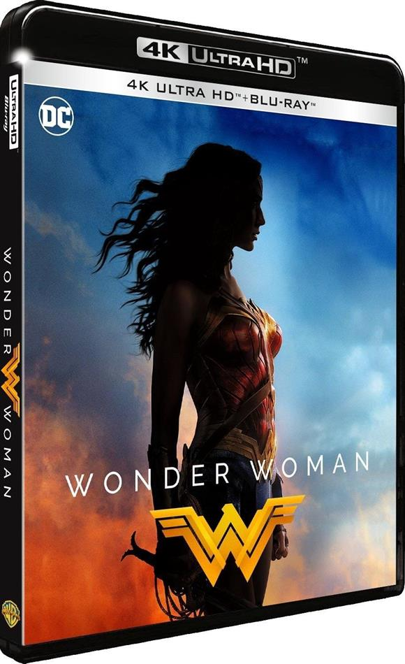 Wonder Woman (2017) (Ultimate Edition, 4K Ultra HD + Blu-ray)