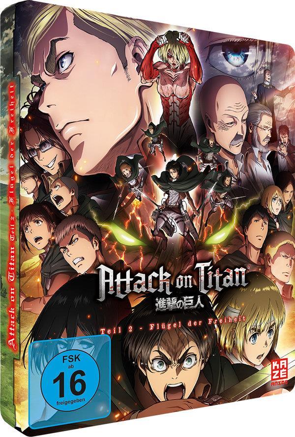 Attack on Titan - Anime Movie Teil 2 - Flügel der Freiheit (2015) (Limited Edition, Steelbook)