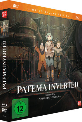 Patema Inverted (2013) (Collector's Edition, Deluxe Edition, Limited Edition, Blu-ray + DVD)