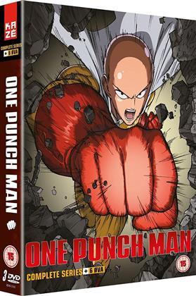 One Punch Man - Complete Series +6 OVA (3 DVD)