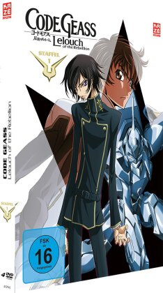 Code Geass: Lelouch of the Rebellion - Staffel 1 (Mediabook, 4 DVDs)